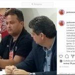 Presidente estadual do PT posta foto com Gleisi e dá sinais de que apoia decisão nacional