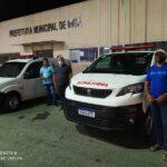 INGÁ: Prefeitura destina ambulâncias para Pontina e Chã dos Pereiras