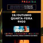JOÃO AZEVEDO CONVOCA O SETOR CULTURAL PARA OS EDITAIS DA LEI ALDIR BLANC (VÍDEO)