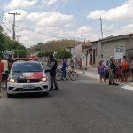 ACIDENTE AUTOMOBILISTICO AGORA NA SENZALA ENVOLVENDO CASAL DE IDOSOS