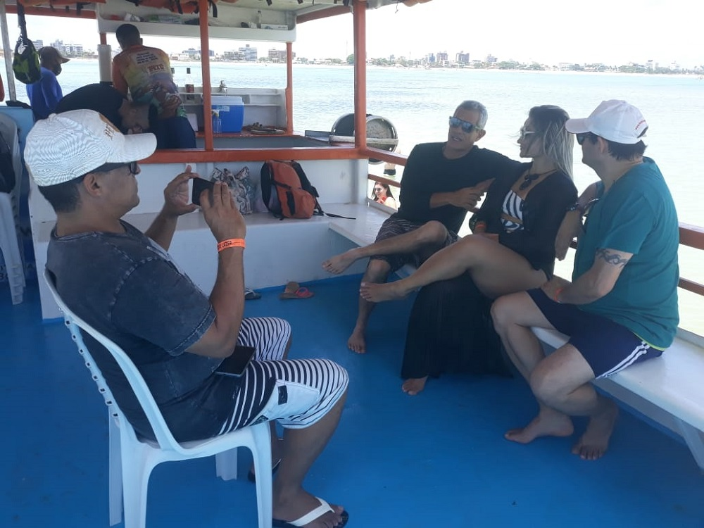Equipe de TV do Rio Grande do Sul produz reportagens sobre a Paraíba