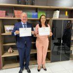 Robério e Leidinha são diplomados Prefeito e vice de Ingá