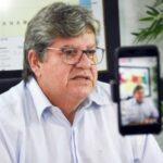 """""""Tomarei a vacina e incentivarei que todos façam o mesmo"""", diz João Azevêdo ao falar sobre a expectativa da vacinação contra a Covid-19"""