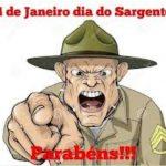 E HOJE 14 DE JANEIRO: DIA DO SARGENTO, NOSSA HOMENAGEM