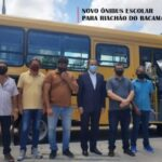 Riachão do Bacamarte recebe ônibus do Governo da Paraíba(Blog do Bruno Lira)