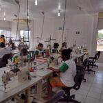 Grupo de quilombolas confecciona fardamentos para a Rede Hospitalar de Ingá, no Agreste paraibano