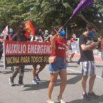 Ato contra Bolsonaro não tem aglomeração na Paraíba (Ecliton Monteiro)