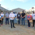 Secretário Célio Alves e conselheiros do Orçamento Democrático visitam obras de escola estadual em Itatuba
