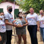 EM MOGEIRO COM PARCERIA DA ALPARGATAS PREFEITURA DISTRIBUI 1.000 KITS DE GÊNEROS ALIMENTÍCIOS