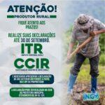 Prefeitura Municipal de Ingá – ATENÇÃO, Produtor Rural!