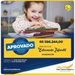 MOGEIRO + INVESTIMENTO + EDUCAÇÃO